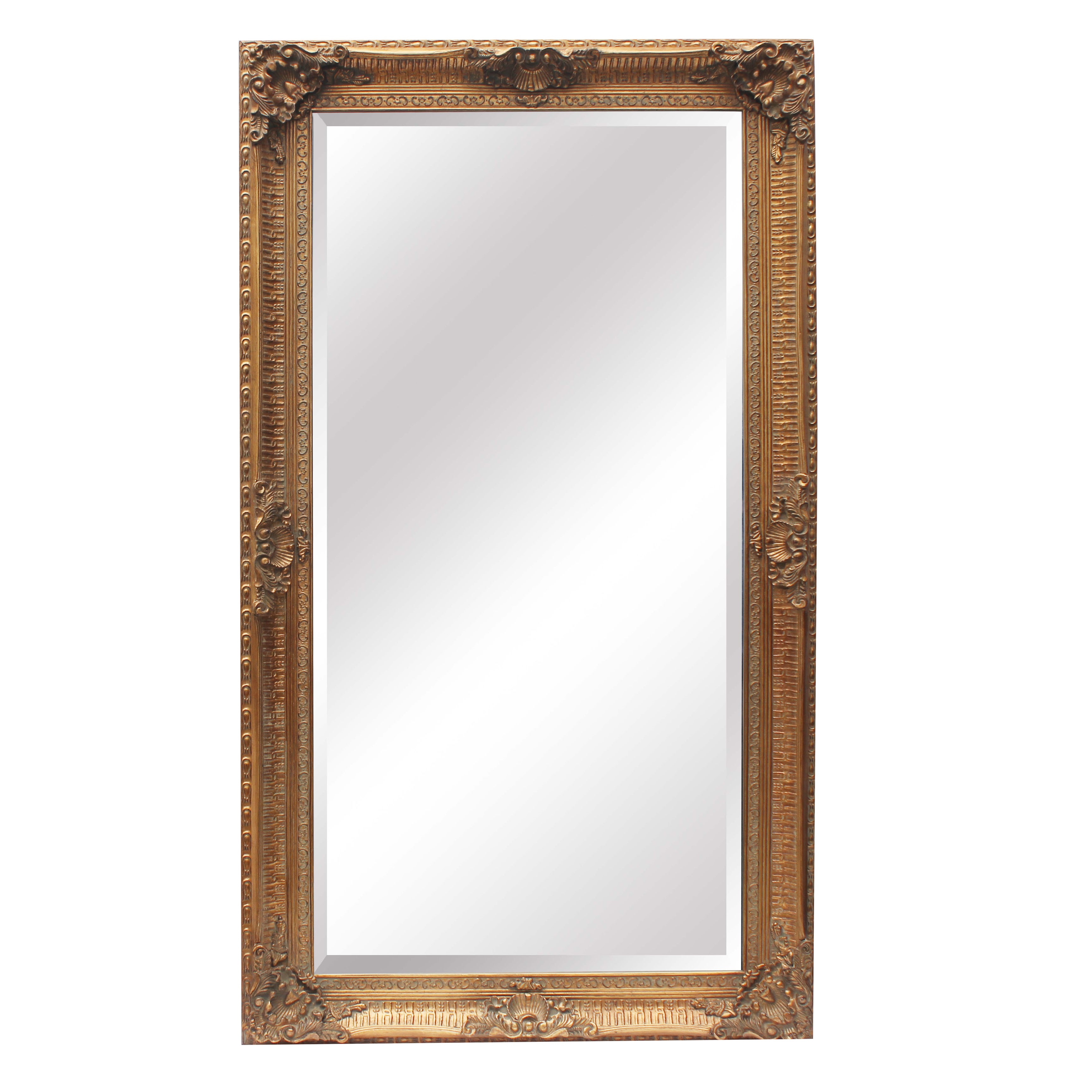 Extra Large Ornate Gold Mirror