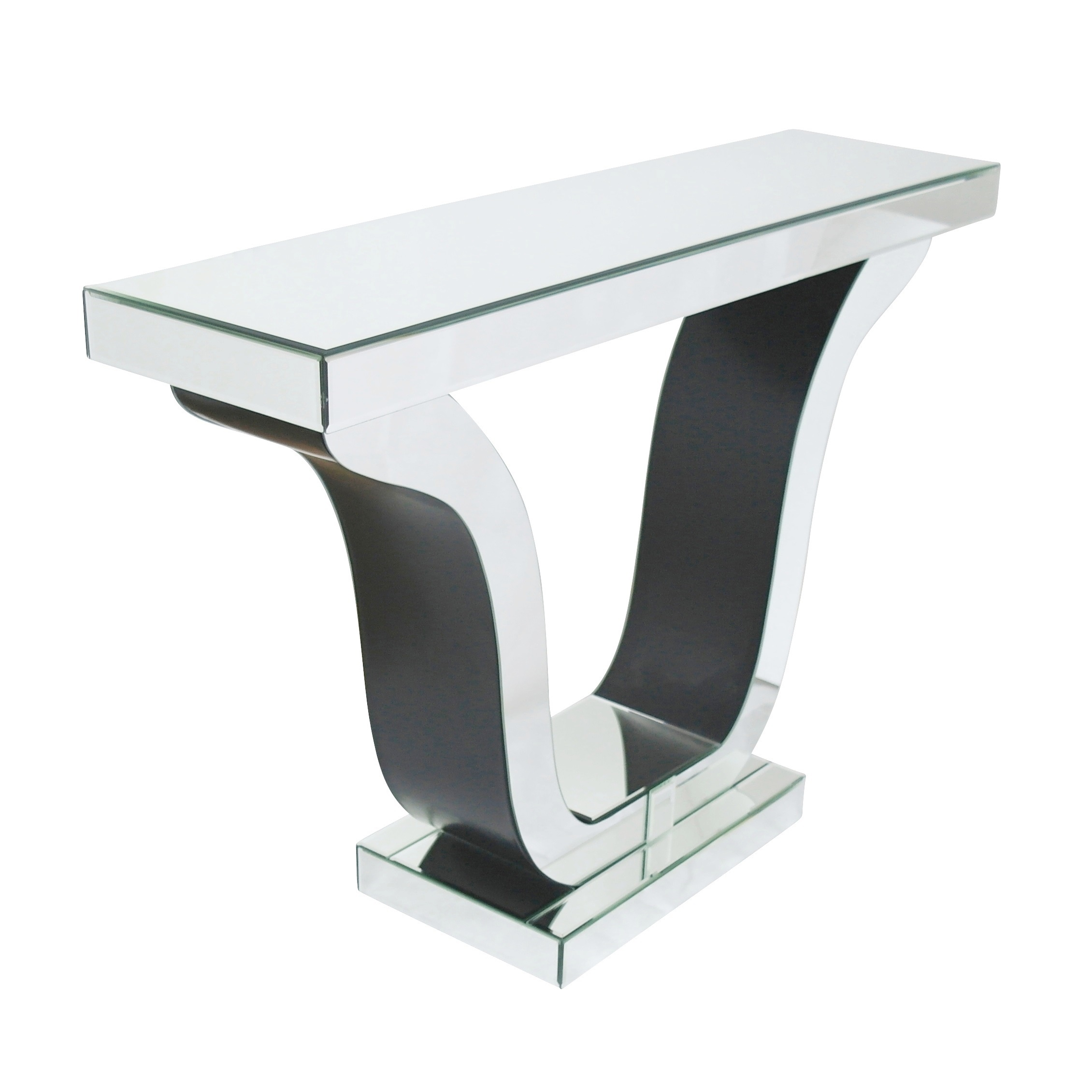 Venetian Mirror Tulip Console Table