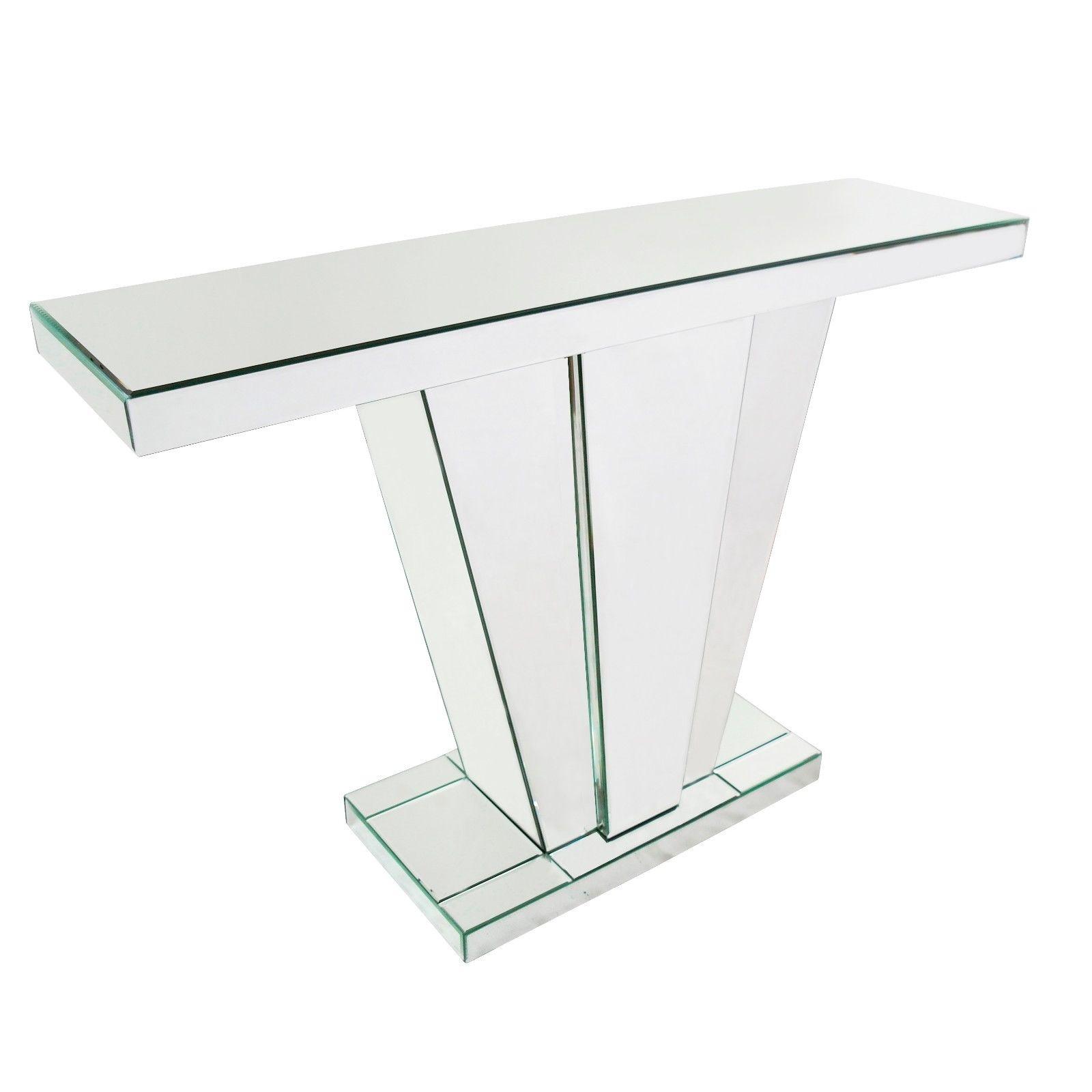 Venetian Mirror Fan Console Table
