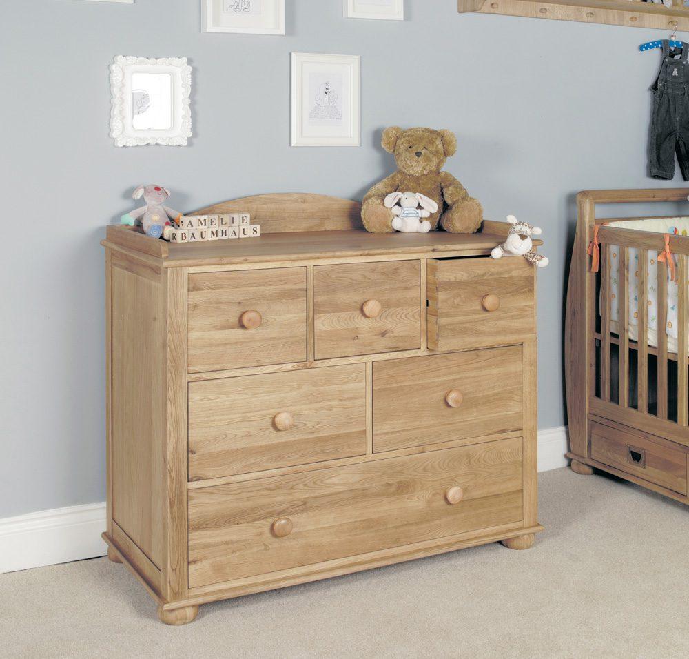 Amelie Oak Childrens (Standard Sized 3′) Single Bed