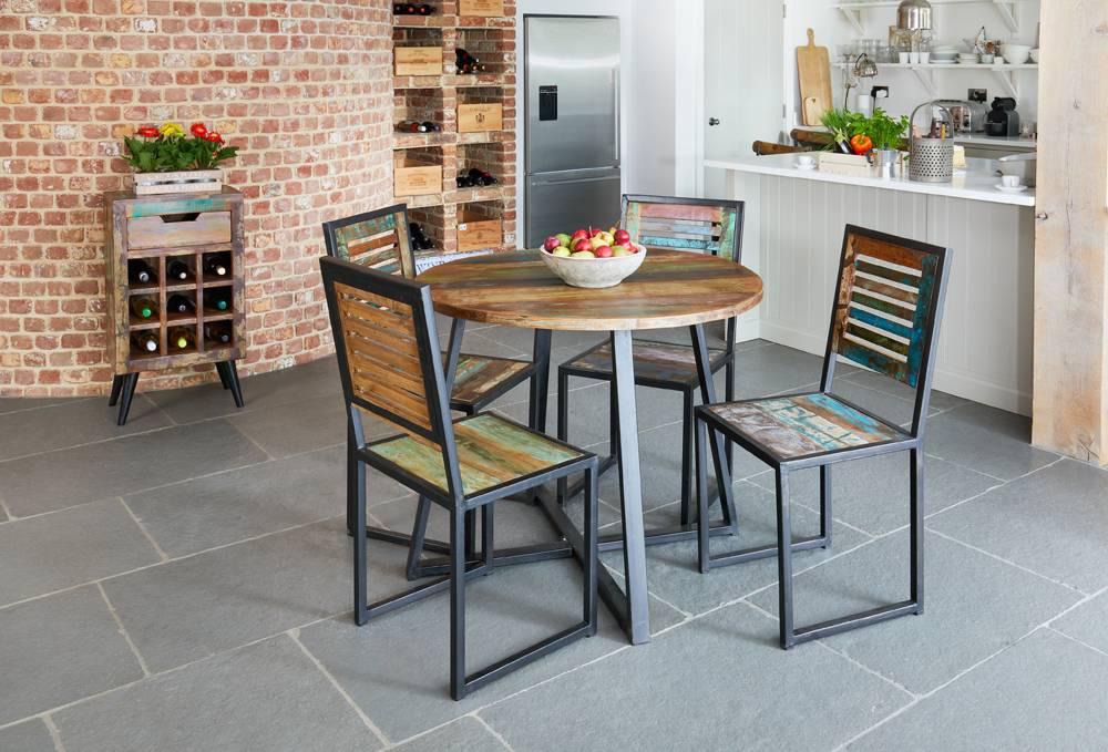 Urban Chic Round Dining Table (100cm x 100cm)