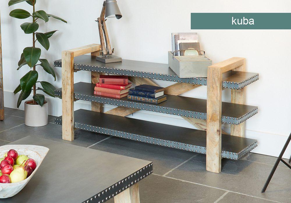 Kuba Low Bookcase / Sideboard