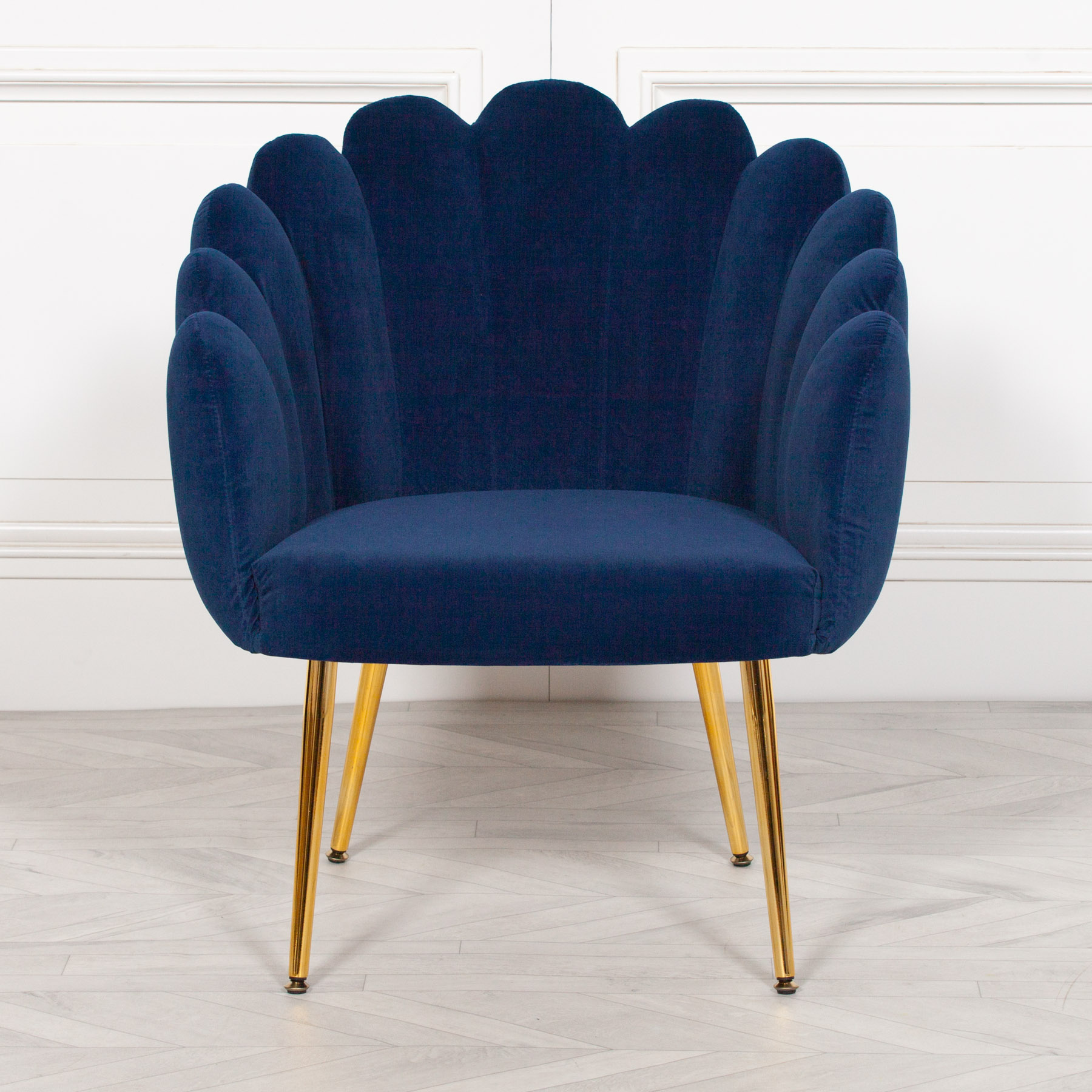 Deco Blue Dining / Bedroom Chair