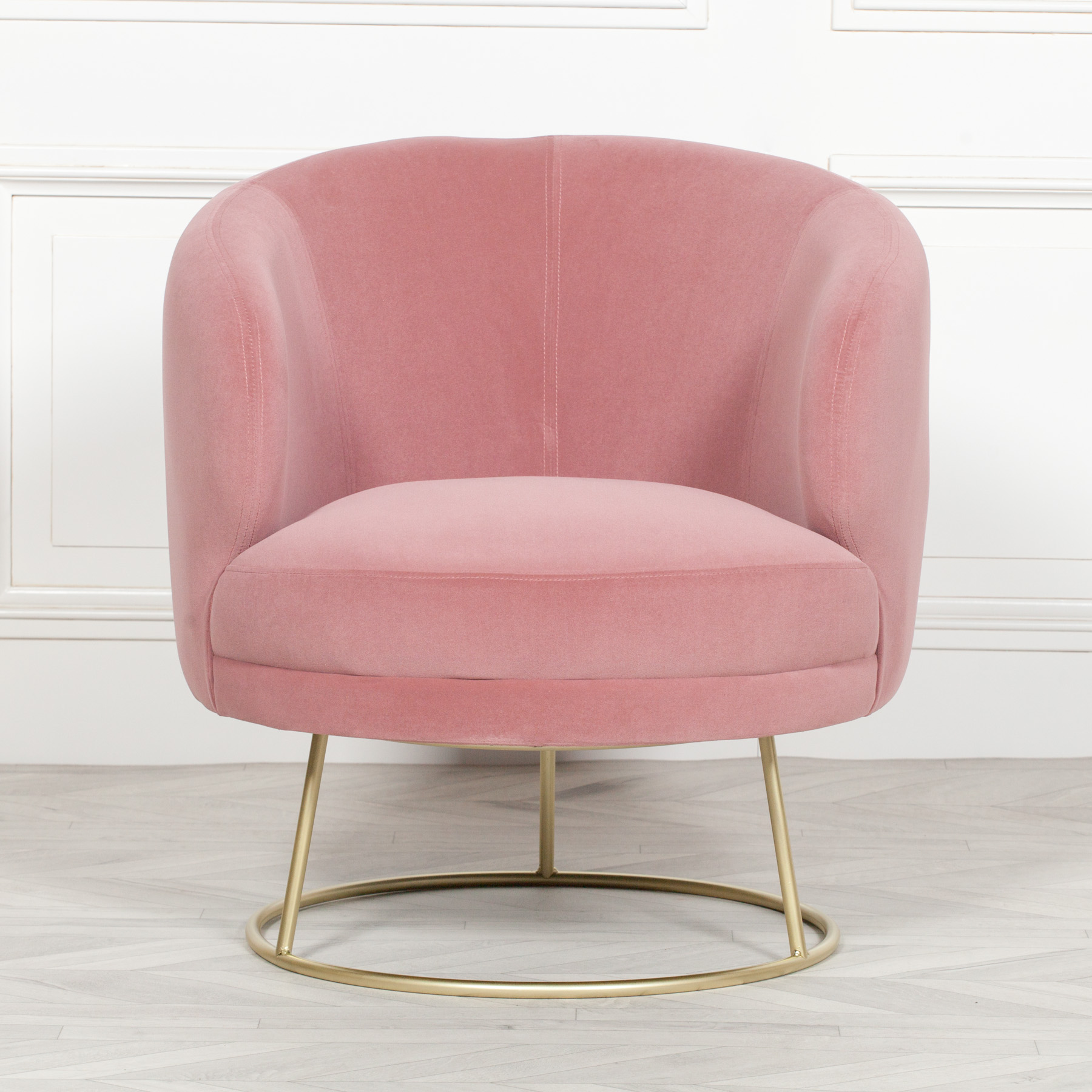 Deco Pink Armchair