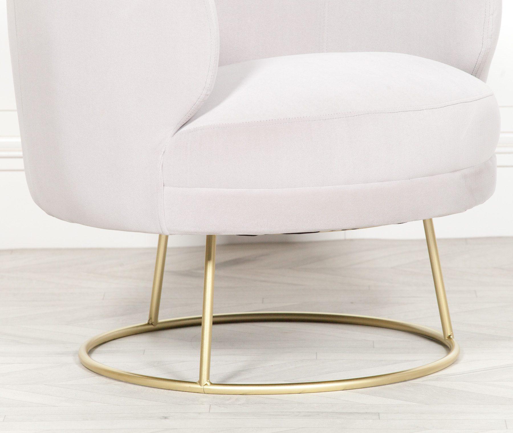 Deco Grey Armchair