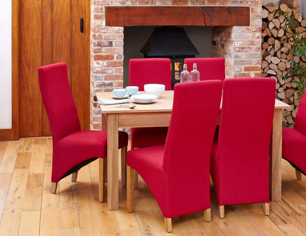 BUNDLE – Mobel COR04B Table with 6 x COR03I Chairs