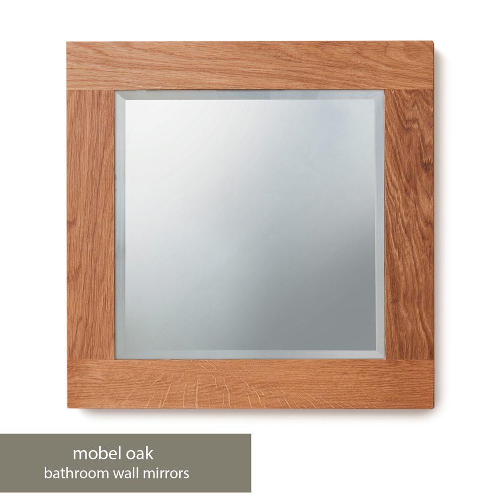 Bathroom Collection – Solid Oak Mirror (Small)