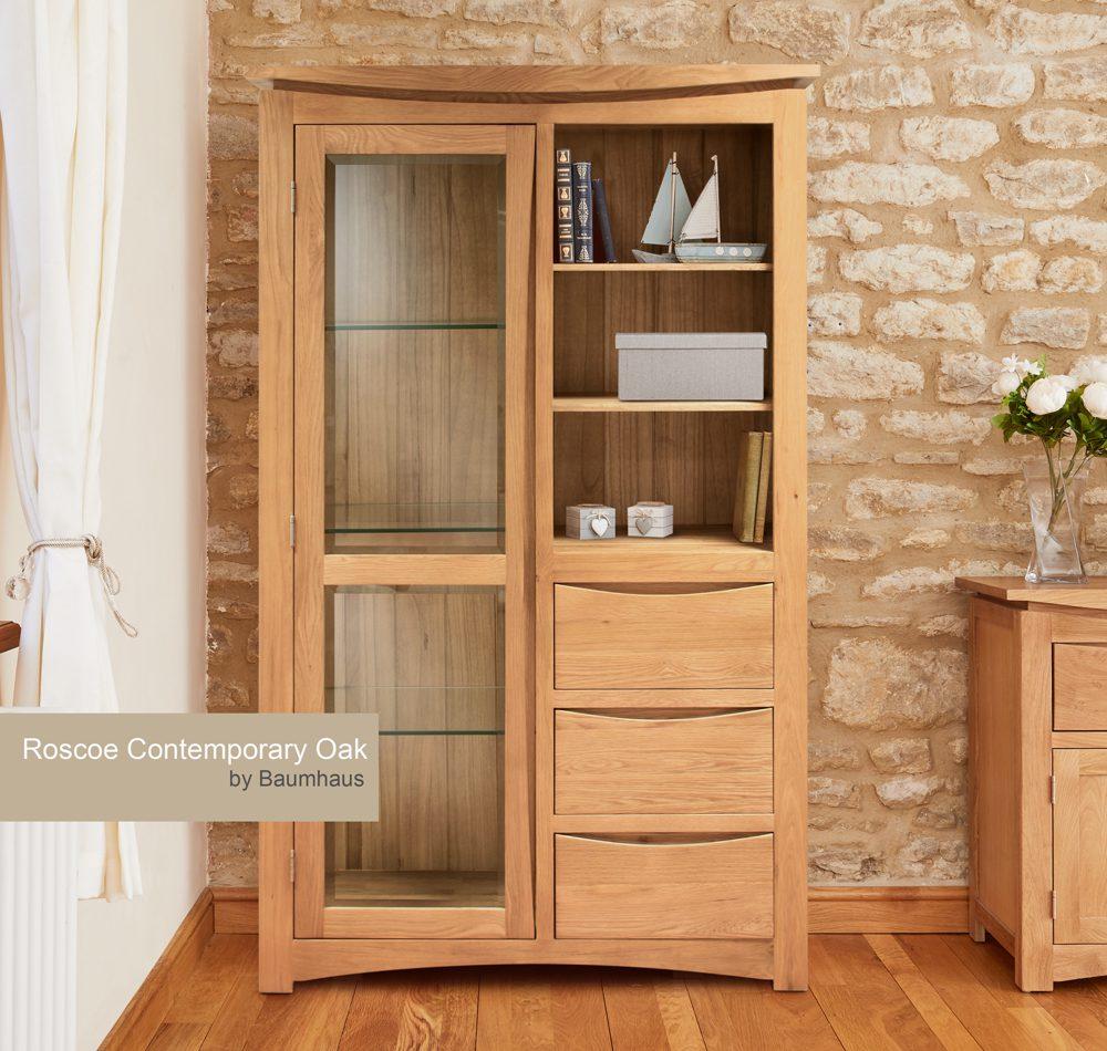 Roscoe Contemporary Oak Glazed Dresser Top