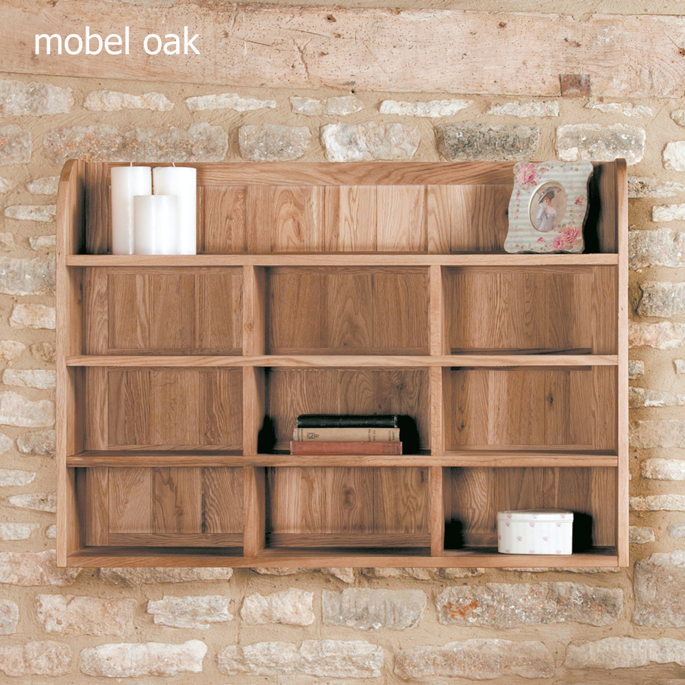Mobel Oak Reversible Wall Rack