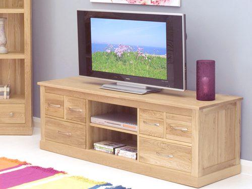 Mobel Oak Widescreen Television Cabinet