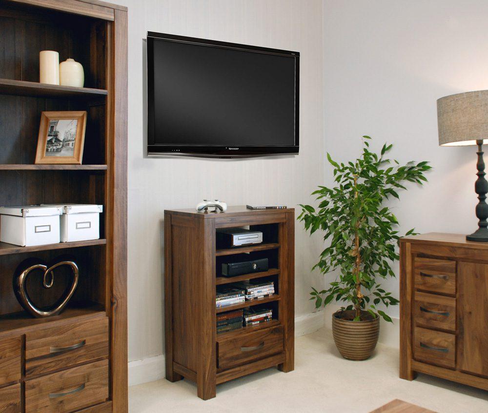 Mayan Walnut Entertainment Ancillaries Storage Unit