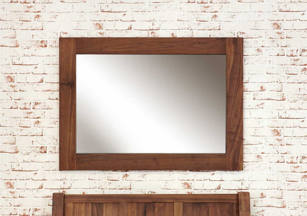 Mayan Walnut Medium Mirror