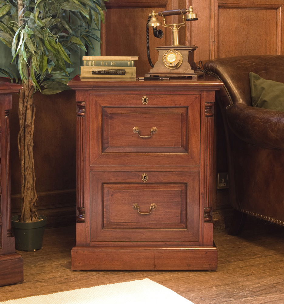 La Roque Two Drawer Filing Cabinet