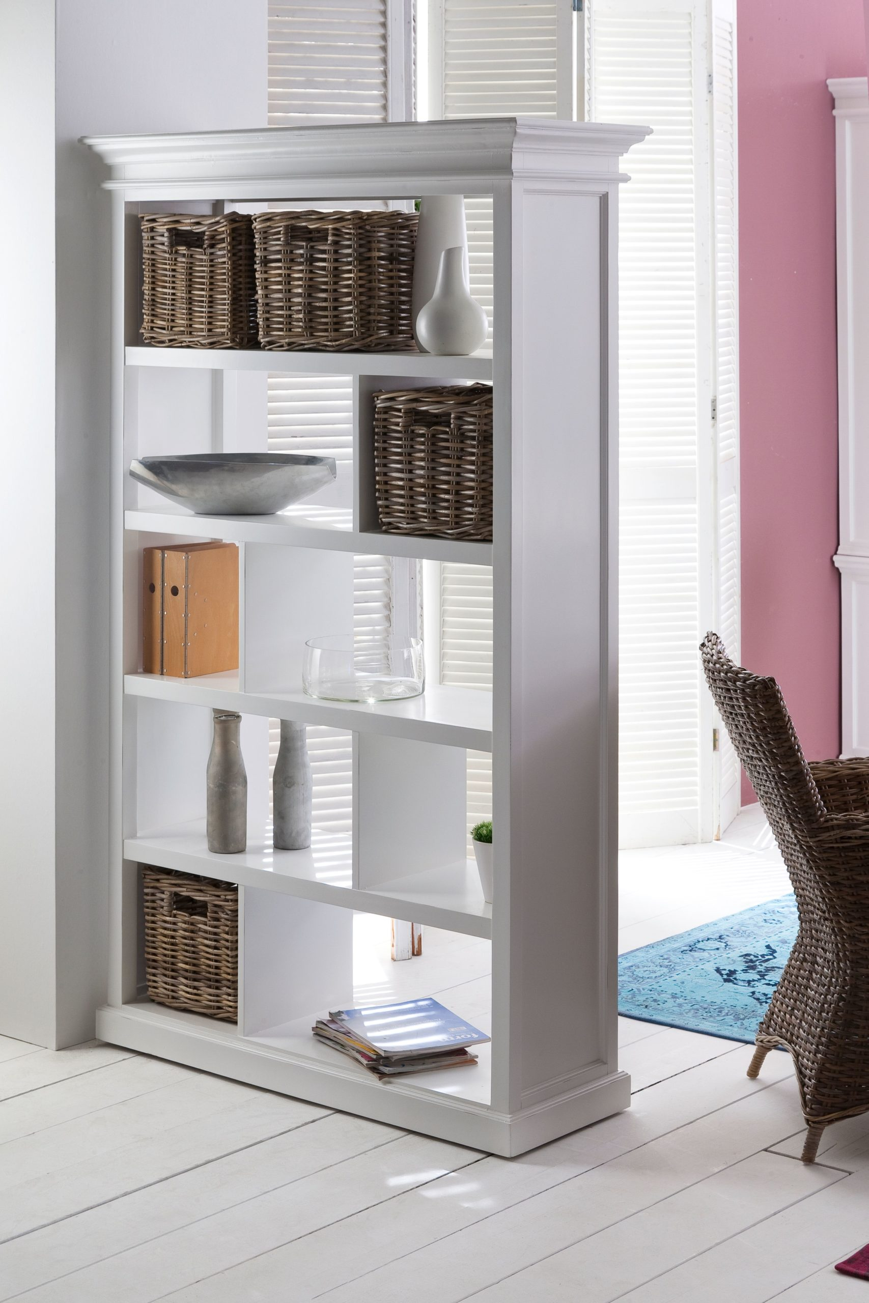 Room Divider w/ basket set