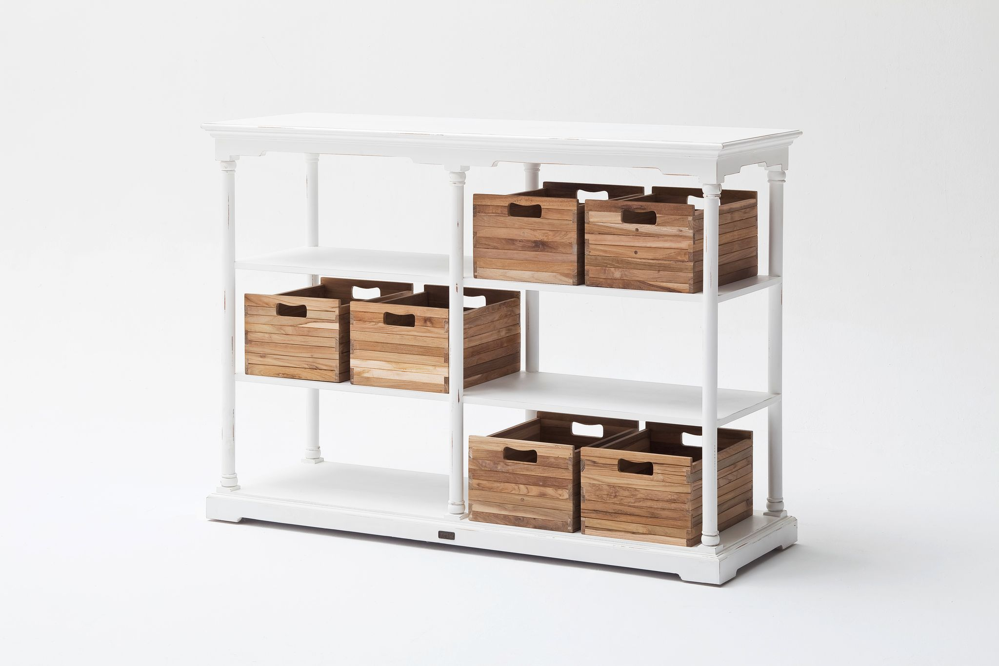Kitchen Table High w/ 6 boxes