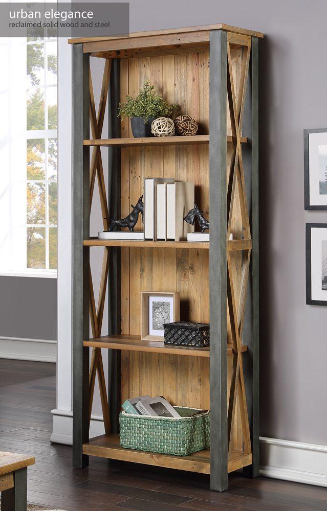 Urban Elegance – Reclaimed Tall bookcase