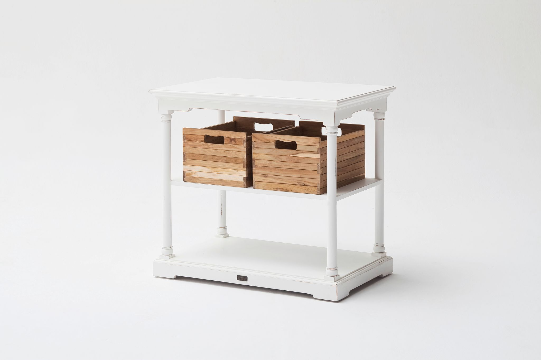 Kitchen Table Small w/ 2 boxes
