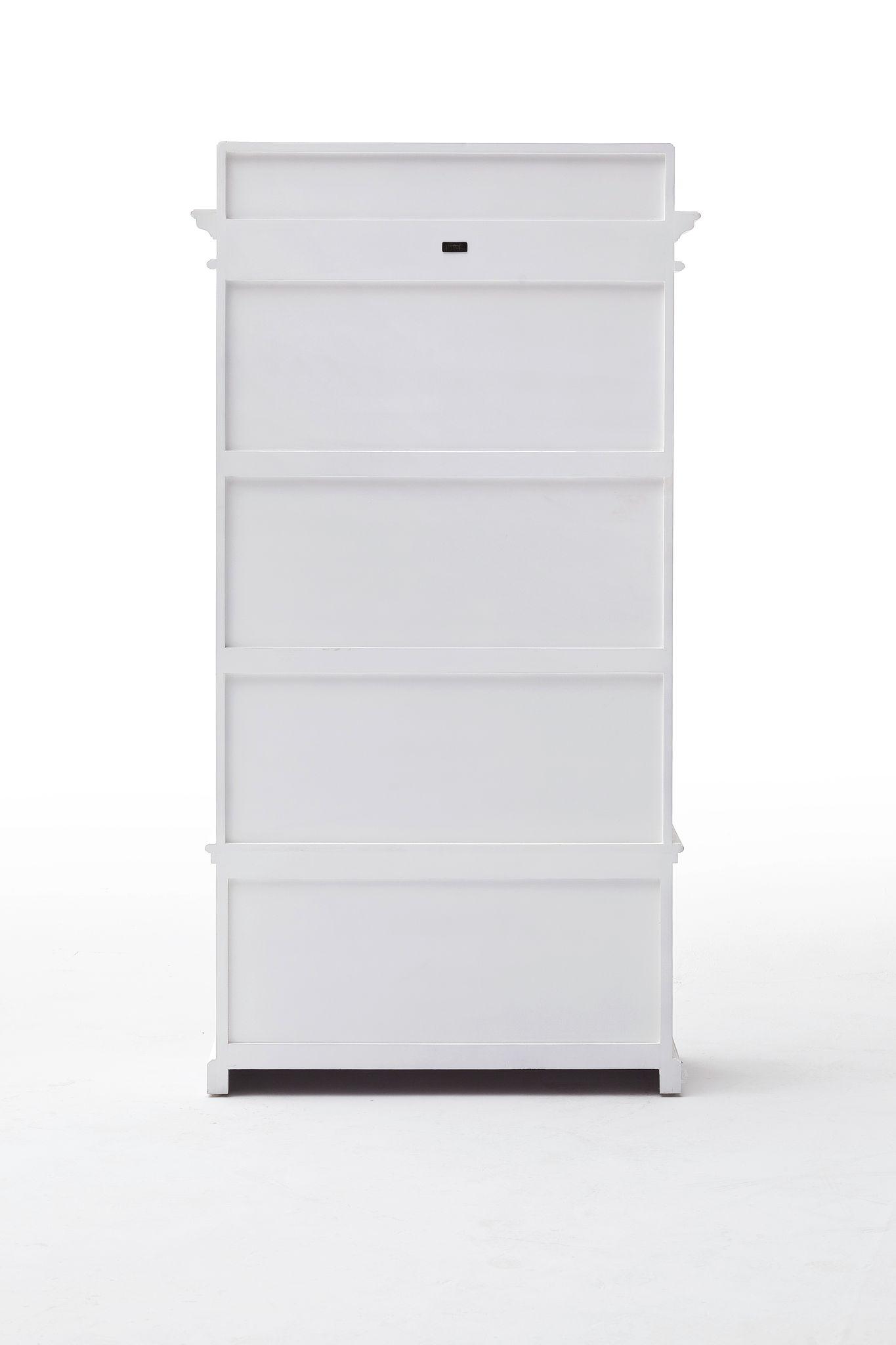 Entryway Coat Rack & Bench Unit w/ cushion+drawers
