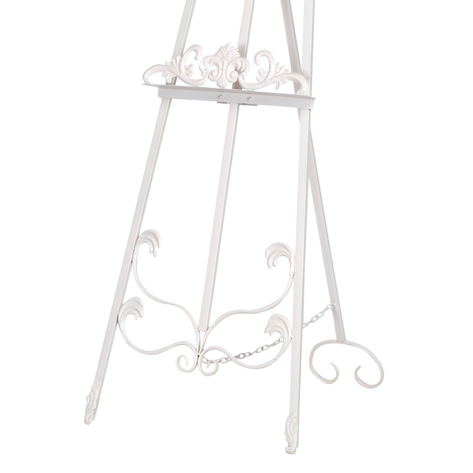 Cream Metal Easel
