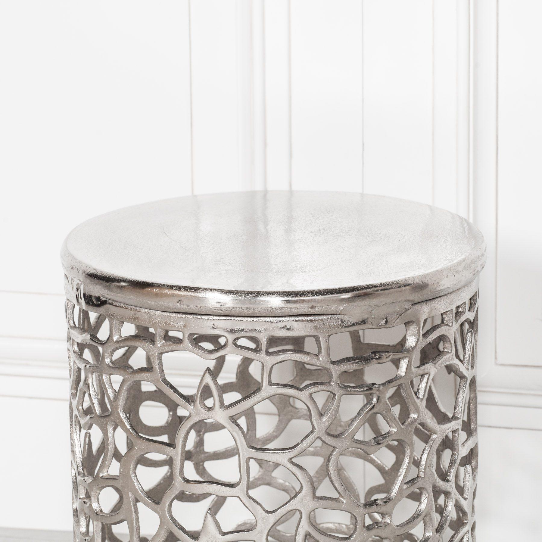 Aluminium Fretwork Side Table