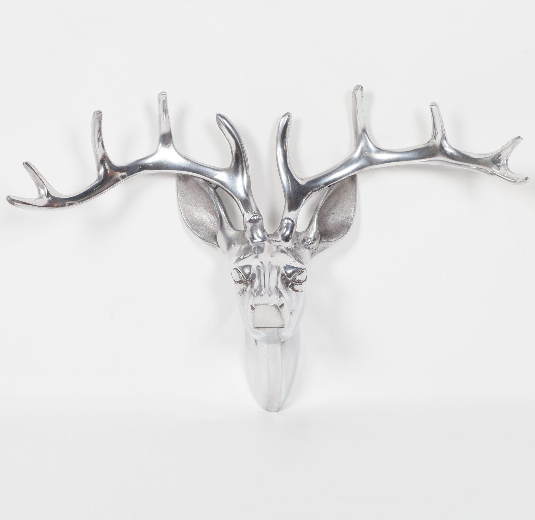 Aluminium Stag Head