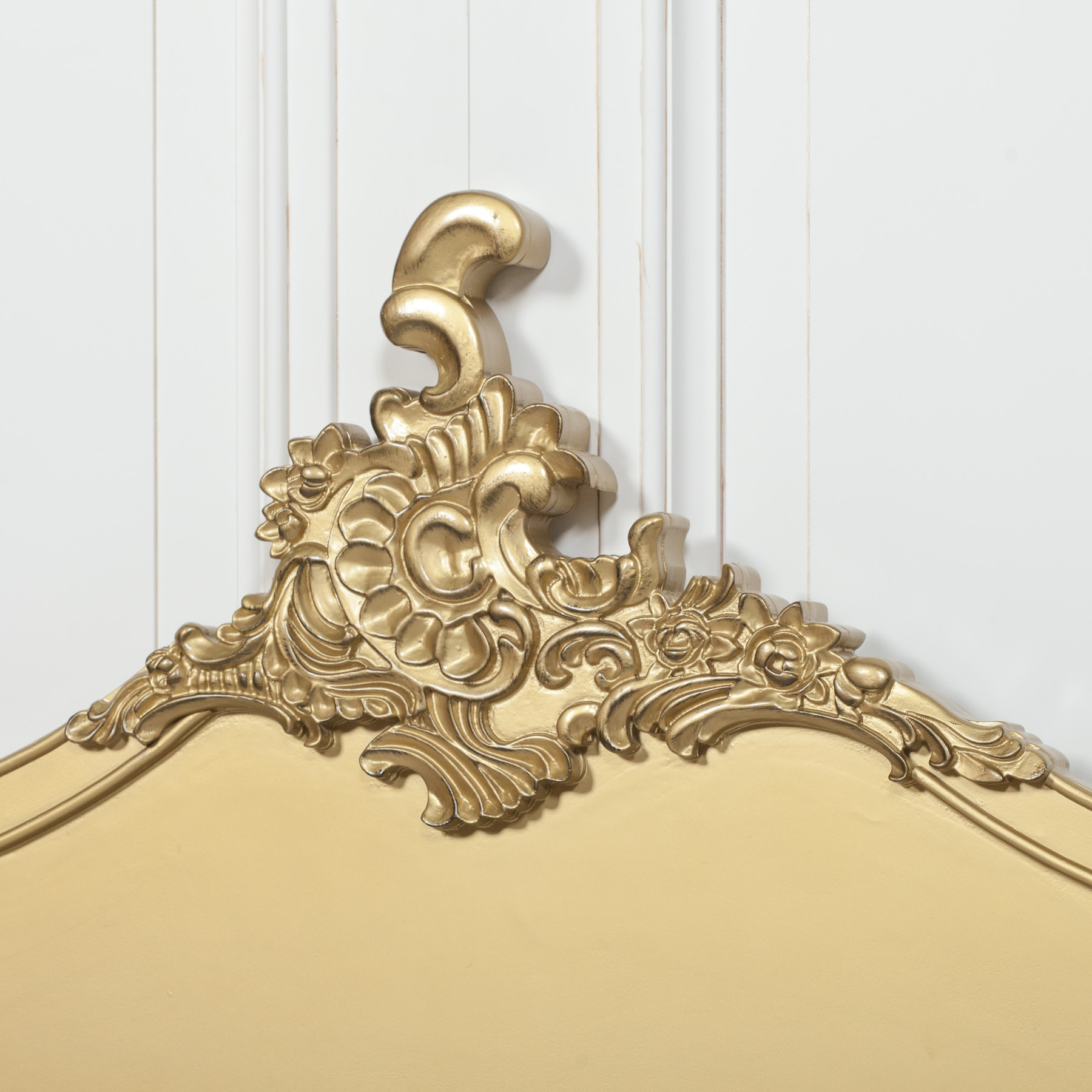 French Gold 5ft King Size Headboard