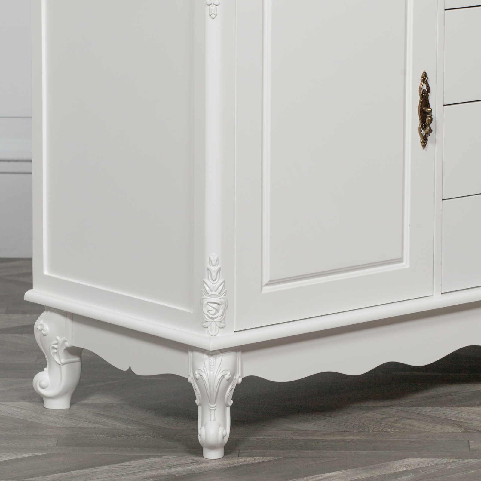 French Style White Sideboard