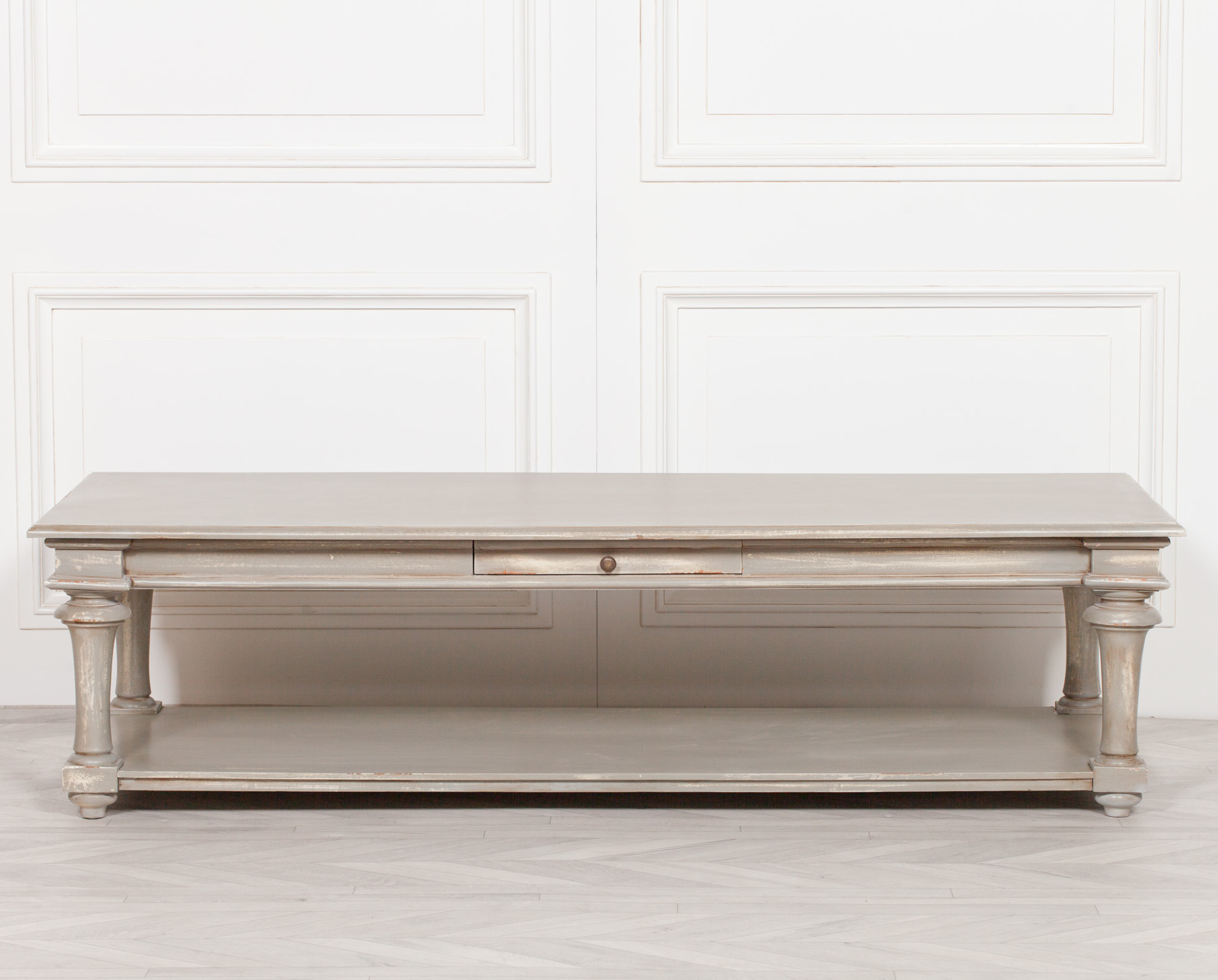 Distressed 170cm Coffee Table (Copy)