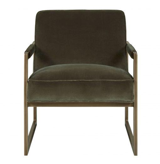Milford Club Chair- Olive