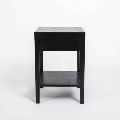 Charlwood Bedside | 1 drawer | Black