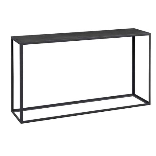 Grayswood Console Table   Black