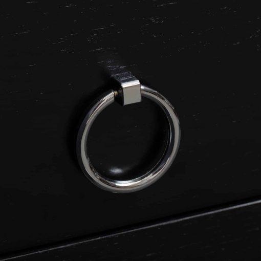Charlwood Bedside | 2 drawer | Black