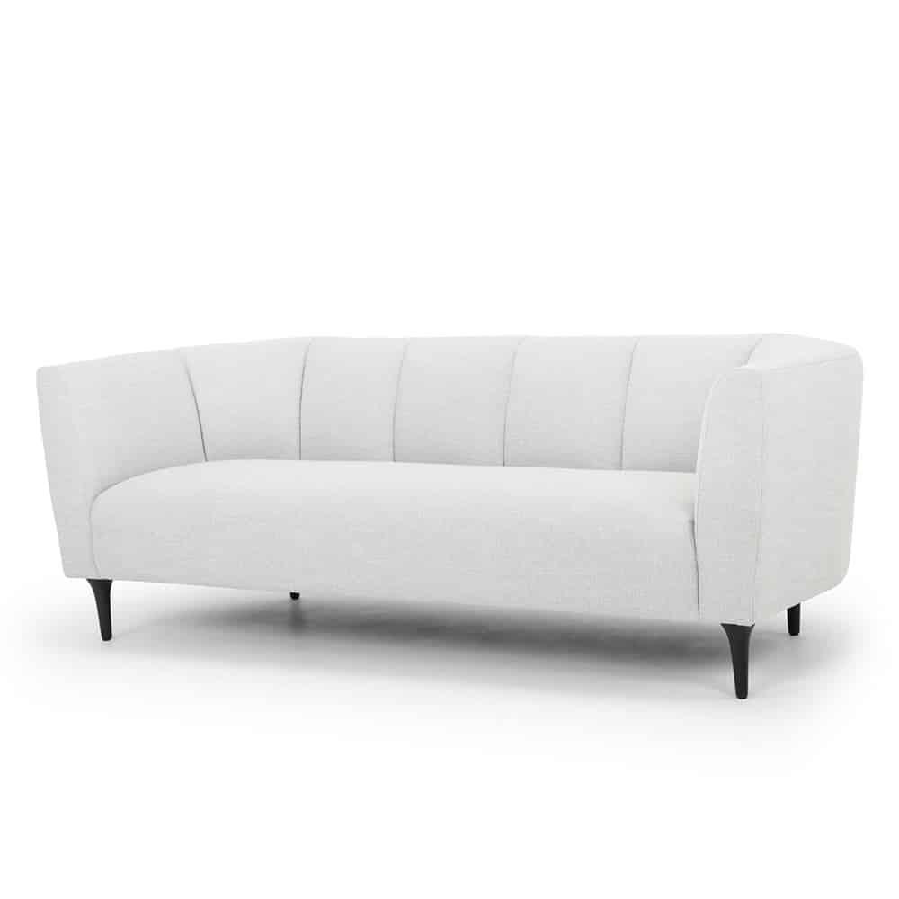Thursley Sofa – Grey Hessian