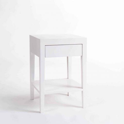 Charlwood Bedside | 1 drawer | White