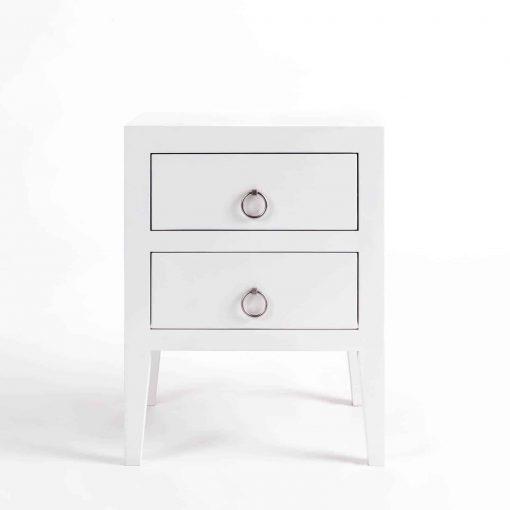 Charlwood Bedside | 2 drawer | White