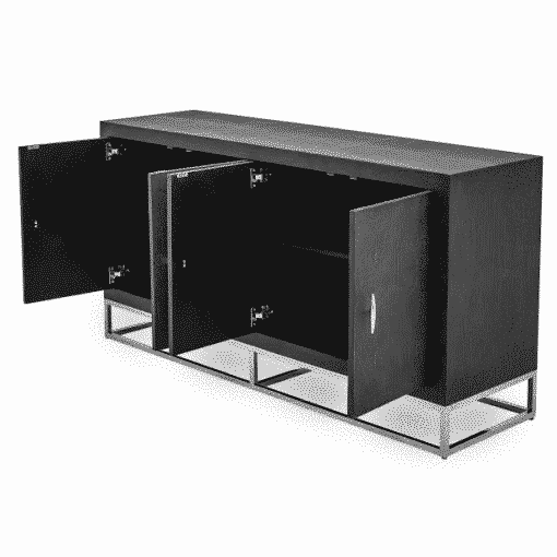 Hascombe Sideboard – Black Shagreen