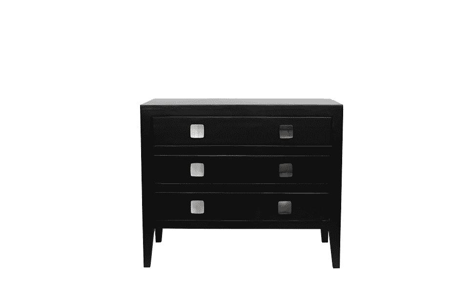 Tatsfield Chest of Drawers – Black