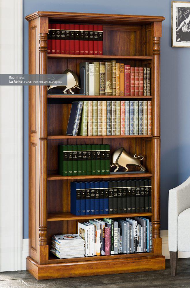 La Reine Tall Open Bookcase