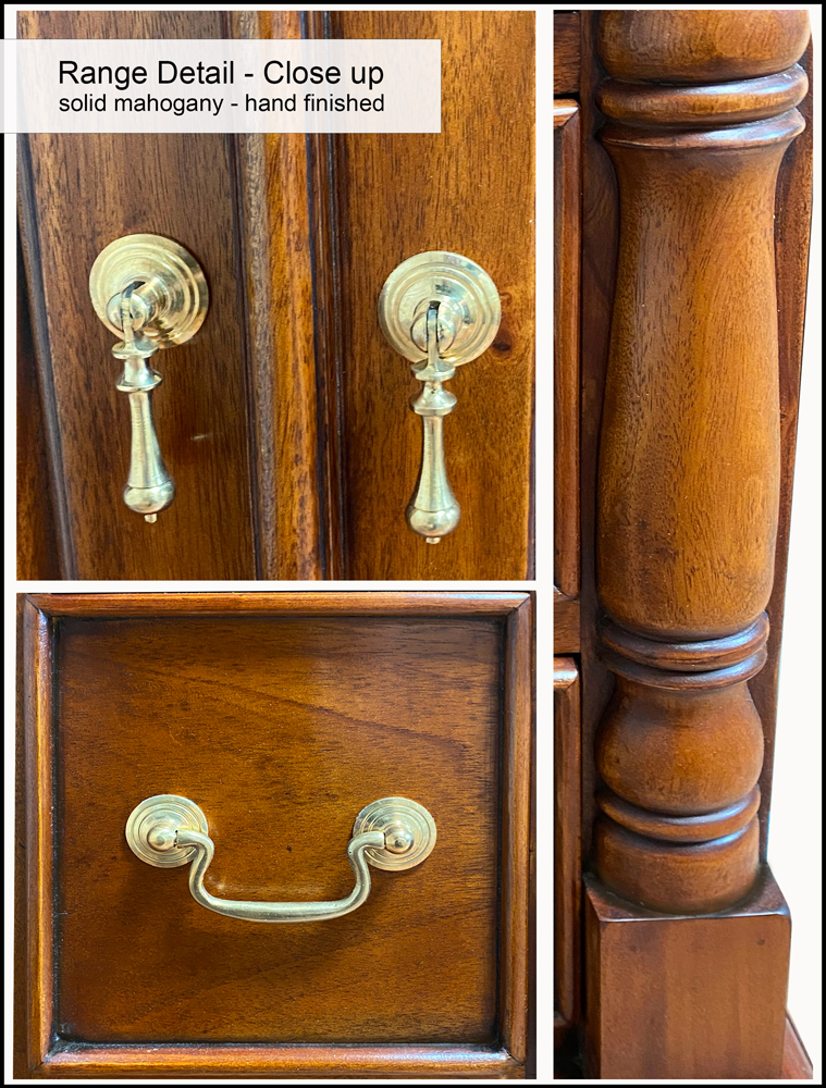 La Reine Bedside Cabinet with Four Drawers
