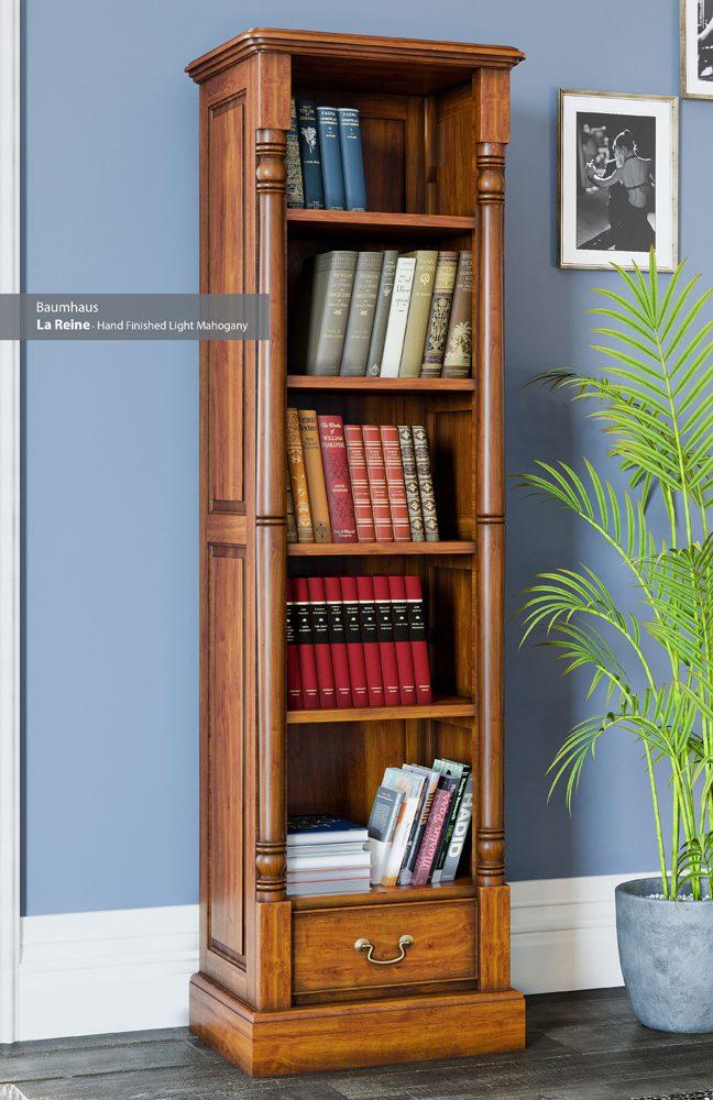 La Reine Narrow Alcove Bookcase