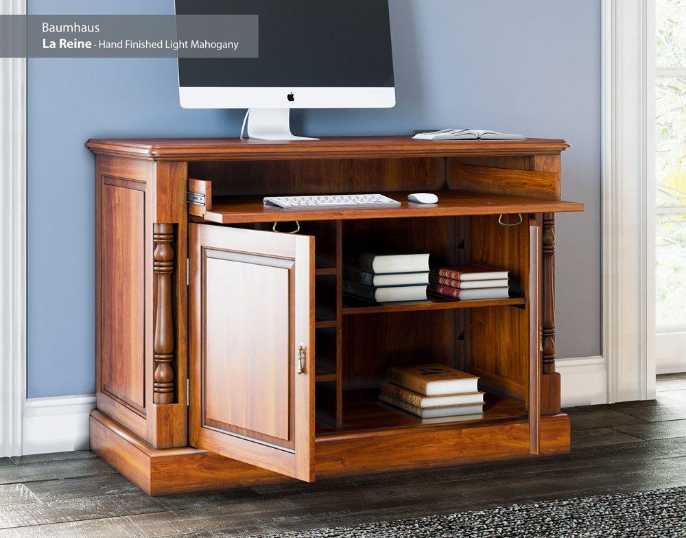 La Reine Hidden Home Office Desk