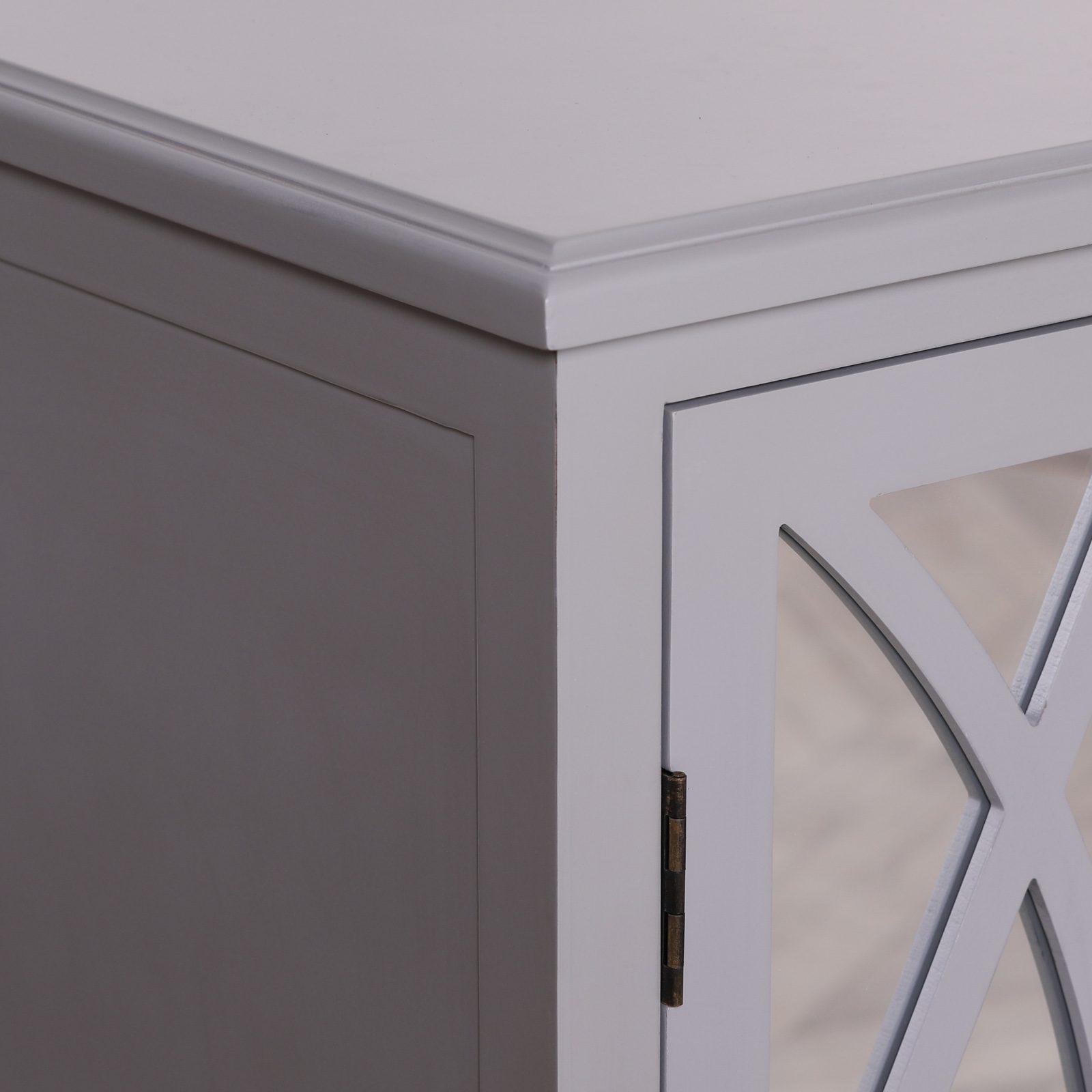 Breakfont Grey Mirror Front Sideboard