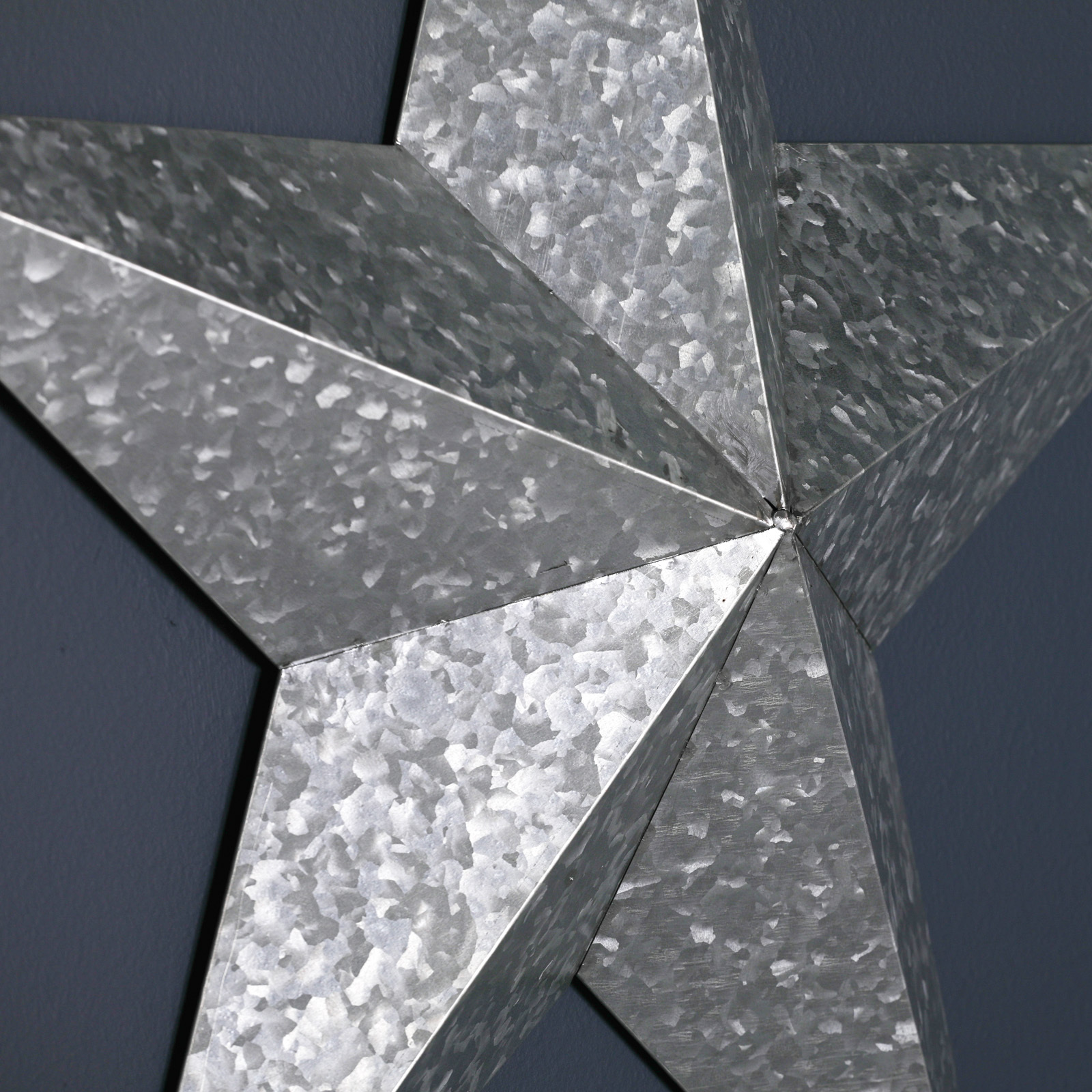Large Metal Decorative Wall Star