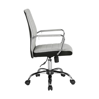 Tempo fabric operator chair with mesh trim