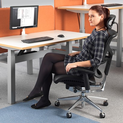 Dynamo Ergo leather posture chair