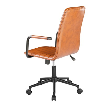 Beat faux leather operator chair